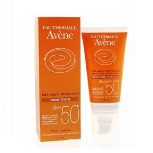 АВЕН Крем солнцезащитный тональный д/чувствительной кожи SPF50+ 50мл купить в Ирпене