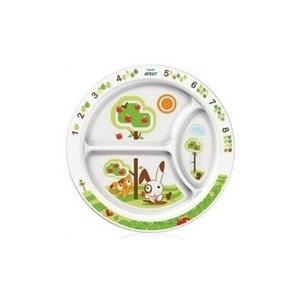 АВЕНТ Дитяча тарілка з малюнками від 12 мес.