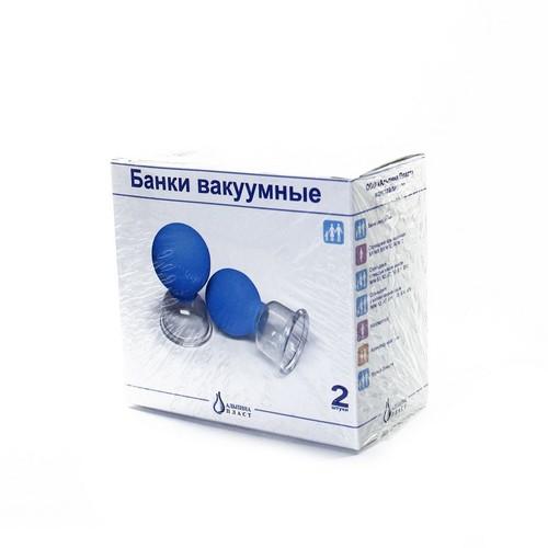 Банки медицинские вакуумные №2