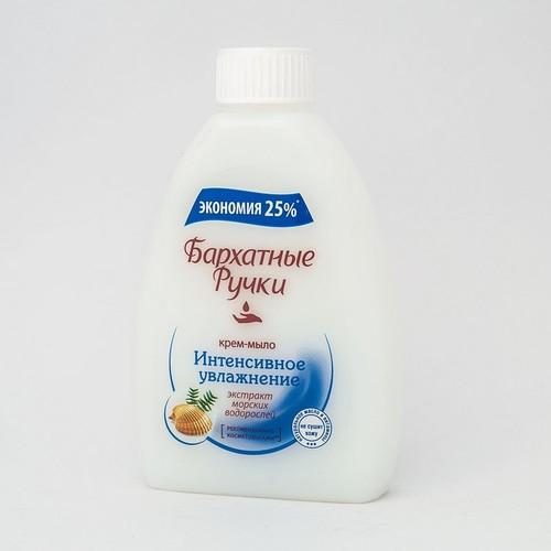 БАРХ.РУЧКИ крем-мыло (смен.блок) Интенсивное увлажнение,240мл купити в Броварах