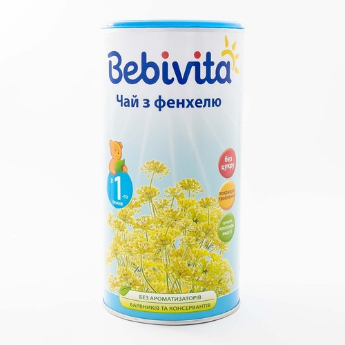 БЕБИВИТА Чай из фенхеля, 200г