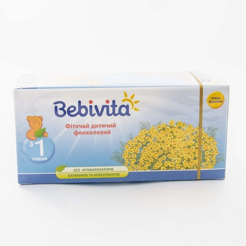 БЕБІВІТА Фіточай дитячий фенхелевий 30г