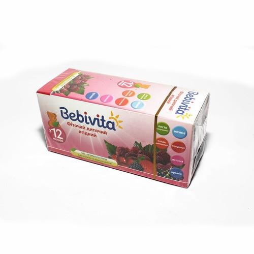 БЕБИВИТА Фиточай детский ягодный 30г купить в Харькове