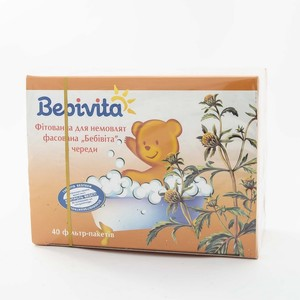 БЕБИВИТА Фитованна для младенца с чередой