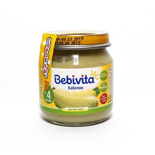 БЕБІВІТА Пюре Овочеве  Кабачок 100г купити в Броварах
