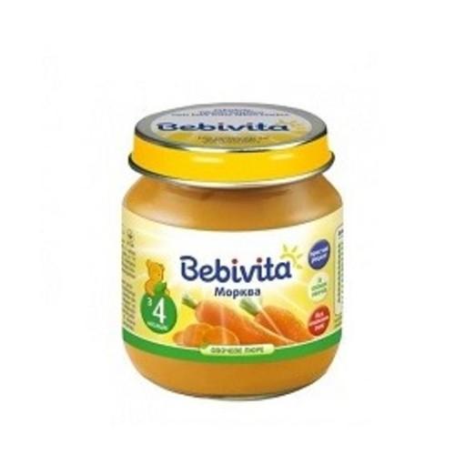 БЕБІВІТА Пюре овочеве Морква 100г купити в Житомире