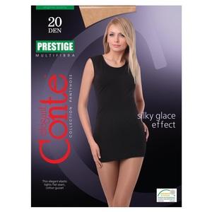 Колготи жіночі CONTE PRESTIGE 20den, розмір 5, колір natural