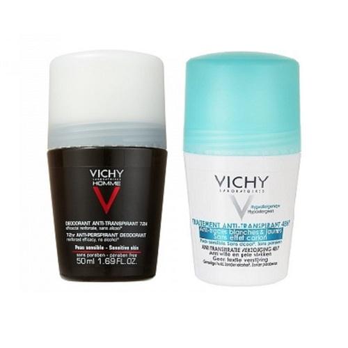 ВИШИ Промо набор Дезодорантов део мужской + женский -40% - фото 1 | Сеть аптек Viridis