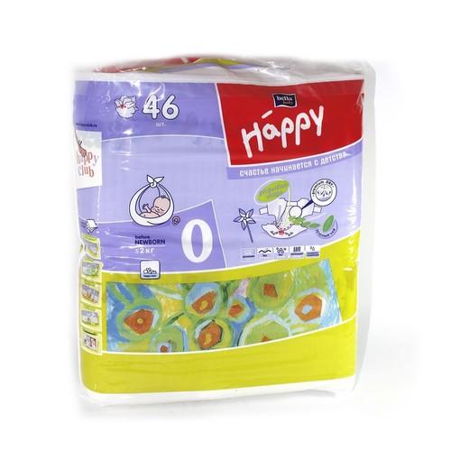 БЕЛЛА Подгузники д/дет. Baby Happy Before New Born 2 кг № 46 купить в Житомире