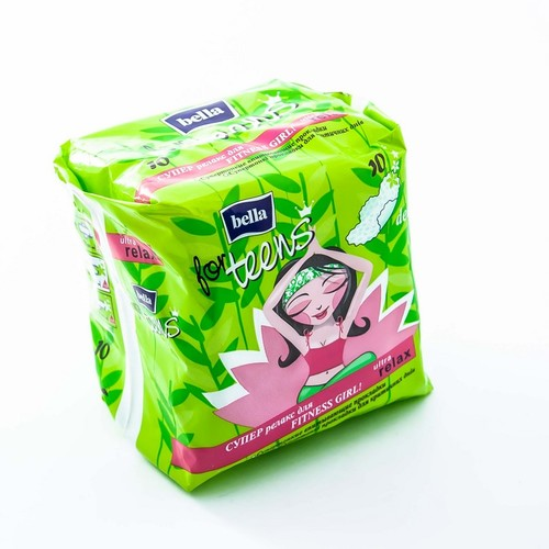 БЕЛЛА Прокладки гигиен.For Teens Ultra Relax extra soft deo green tea,10 шт