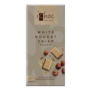 Людвиг Вайнрих Шоколад білий 80г органічний(White Nougat  Cri.)