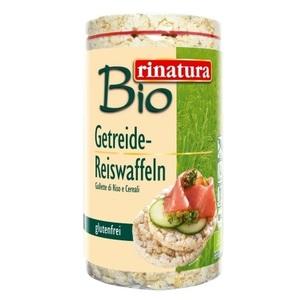 РИНАТУРА Коржики Рисові 100 гр органічні без глютену Rinatura Німеччина