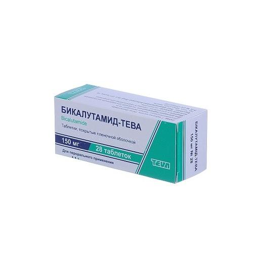БІКАЛУТАМІД-ТЕВА ТАБ. 150МГ №28 - фото 1 | Сеть аптек Viridis
