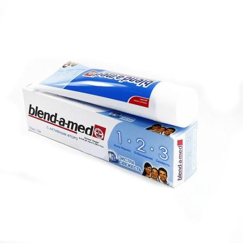 БЛЕНДАМЕД зуб. паста 3 Effect Екст Сіжість 100мл