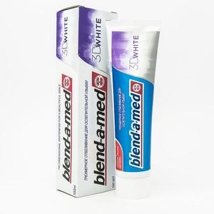 БЛЕНДАМЕД зуб. паста 3D White 100мл