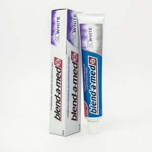 БЛЕНДАМЕД зуб. паста 3D White 50мл