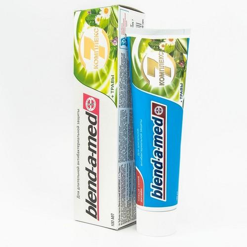 БЛЕНДАМЕД зуб. паста Complete 7 Herbal 100мл купить в Броварах