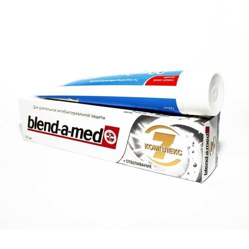 БЛЕНДАМЕД зуб. паста Complete 7 White 125мл
