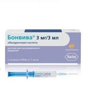 БОНВИВА Р-Р Д/ИН. 3МГ/3МЛ ШПР. №1