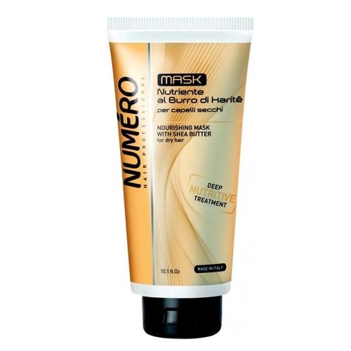 БРЕЛИЛ НУМЕРО Маска питательная для волос с маслом карите и авокадо 300мл - фото 1 | Сеть аптек Viridis