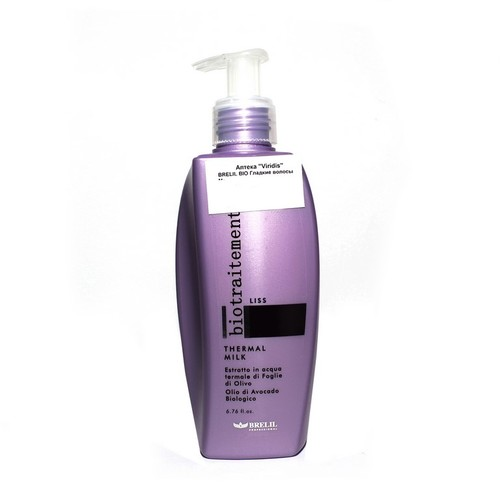 БРЕЛИЛ BIO Гладкие волосы Молочко для волос термальное 200мл купить в Житомире
