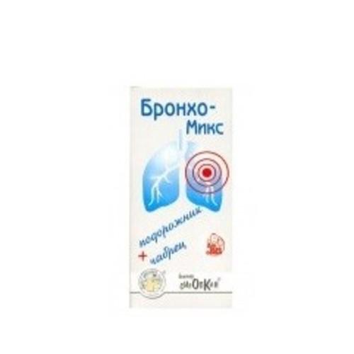 БРОНХО-МИКС ФИТОСИРОП 100МЛ