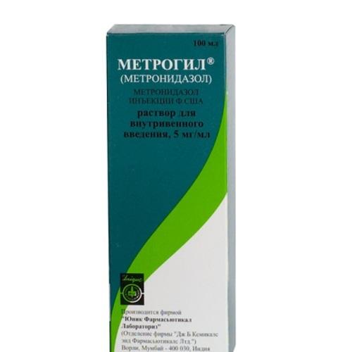 МЕТРОГІЛ Р-Н Д/ІНФ. 5МГ/МЛ 100МЛ без ндс - фото 1 | Сеть аптек Viridis