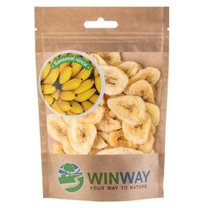 ВИН ВЭЙ Банановые чипсы сушеные zip-пакет 70г