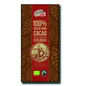 Соле Шоколад темний 100% какао органичний  100 гр