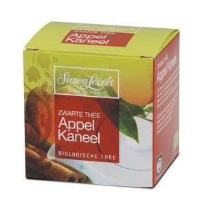 Симон Ливелт Чай чорний Яблуко з корицею органичний 17,5г.у фільтр-пак(10*1,7г.)