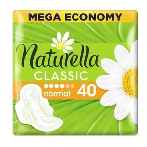 НАТУРЕЛЛА Classic гіг. прокл.з крильцями Camomile Normal Quatro 40шт