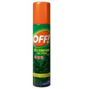 ОФФ Экстрим Аэрозоль от комаров 100мл