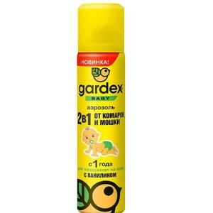 ГАРДЕКС Baby Аэрозоль от комаров и мошек с 1-го года 80мл