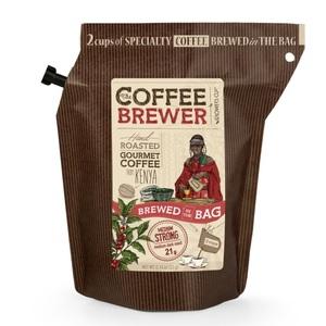 Гроверс Кап Кава мелена обсмажена з кофеіном з Кенія  для зав. GROWER'S CUP Данія20 г