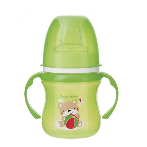 КАНПОЛ Кружка тренировочная EasyStart Sweet Fan зеленая 120мл - фото 1   Сеть аптек Viridis