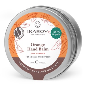 ИКАРОВ Масло апельсиновое органическое с маслом ши и ванилью 120мл