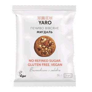 ЯРО (YARO) Печенье Овсяное Фисташка 2шт*36г