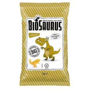 СНЕКИ кукурузные с сыром McLLOYD'S «Динозаврики» органические, 50г