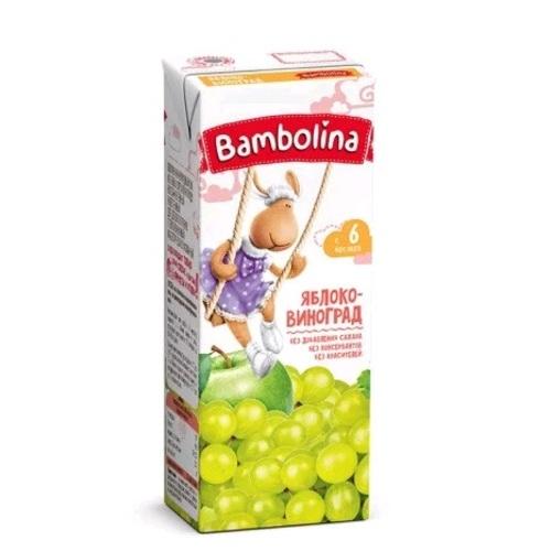 БАМБОЛИНА Сок Яблочно-виноградный 200 мл с 6 мес. - фото 1 | Сеть аптек Viridis