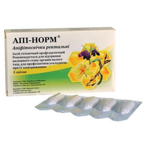 АПІ-НОРМ АПІФІТОСВІЧКИ РЕКТ.№5 - фото 1 | Сеть аптек Viridis