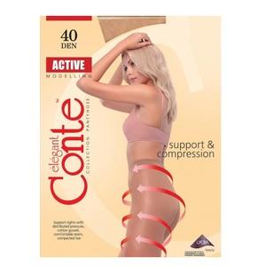 Колготи жіночі CONTE ACTIVE 40den, розмір 5, колір natural