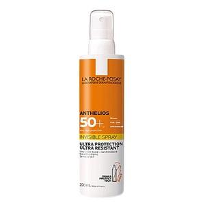 ЛЯ РОШ ПОЗЕ Антгеліос Сонцезахисний Спрей для шкіри обличчя та тіла здуже високим захист SPF50+200мл