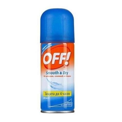ОФФ Smooth&Dry Аэрозоль от комаров 100мл - фото 1 | Сеть аптек Viridis