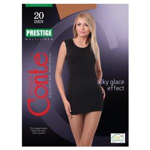 Колготи жіночі CONTE PRESTIGE 20den, розмір 3, колір bronz