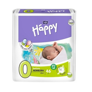 БЕЛЛА Подгузники д/дет. Baby Happy Before New Born 0-2кг №46