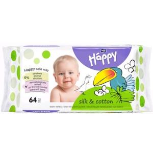БЕЛЛА Серветки вологі Baby Happy для дітей