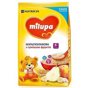 МІЛУПА Каша молочна мультизлакова з фруктами від 7 міс. 210г