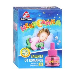 РАПТОР Некусайка для детей жидкость 30 ночей