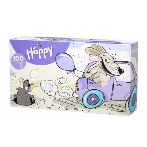 БЕЛЛА Хустинки універс. двошарові Baby Happy №1 100шт - фото 1 | Сеть аптек Viridis