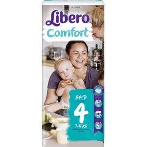 ЛИБЕРО Comfort 4 (7-14кг) №54